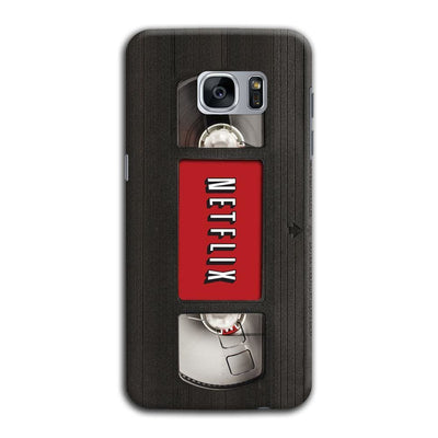 Netflix On Vhs Slim Case And Cover For Galaxy S7