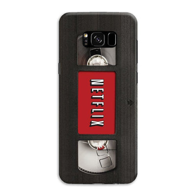 Netflix On Vhs Slim Case And Cover For Galaxy S8