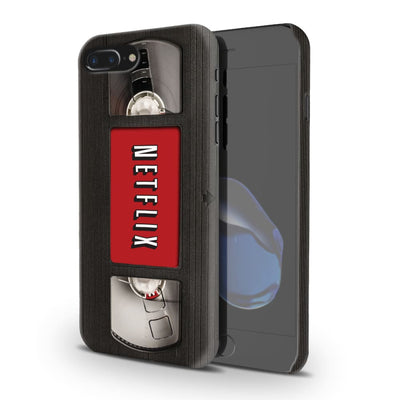 Netflix On Vhs Slim Case And Cover For Iphone 8 Plus