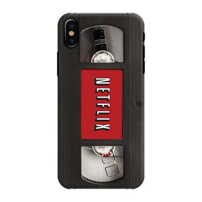 Netflix On Vhs Slim Case And Cover For Iphone X