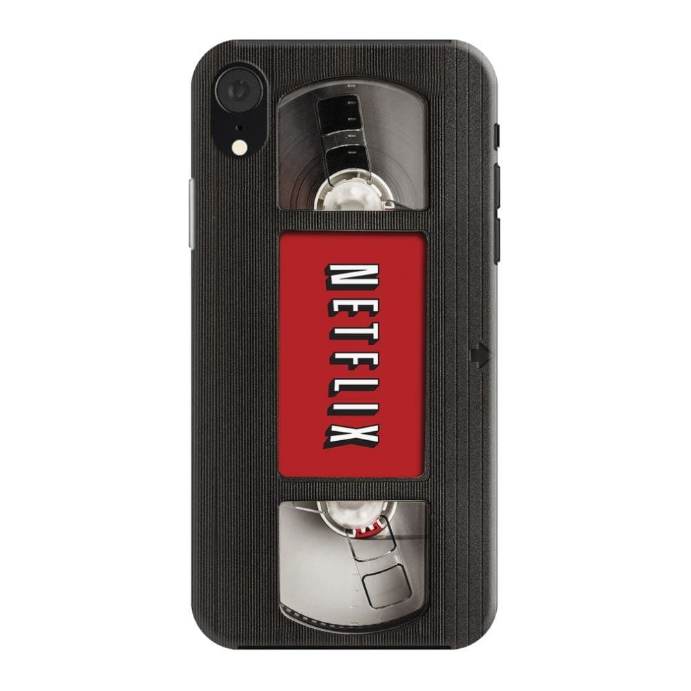 Netflix On VHS Slim Case And Cover For iPhone XR