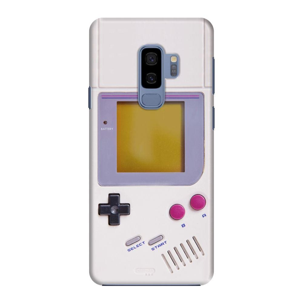 NINTENDO GAME BOY DESIGNER Slim Case And Cover For Galaxy S9 Plus