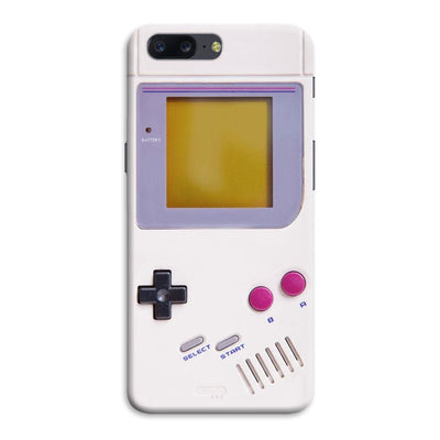 Nintendo Game Boy Designer Slim Case And Cover For OnePlus Five