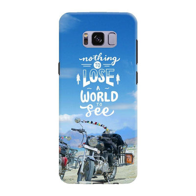 Nothing To Lose A World See Slim Case And Cover For Galaxy S8