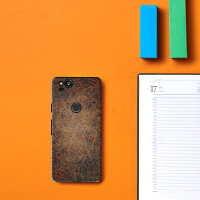 on leather DESIGNER Slim Case And Cover For Pixel 2
