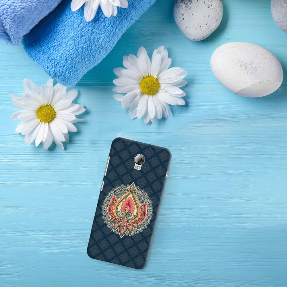 Ornamental Floral Motif Slim Case For Lenovo Vibe P1