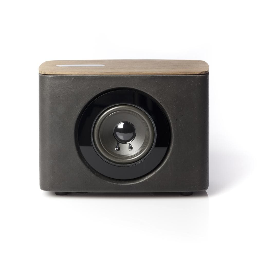 P.A.C.O. - Lil Bluetooth Speaker in Concrete and Wood