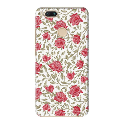 Petals And Leaves Slim Case For Redmi MI A1