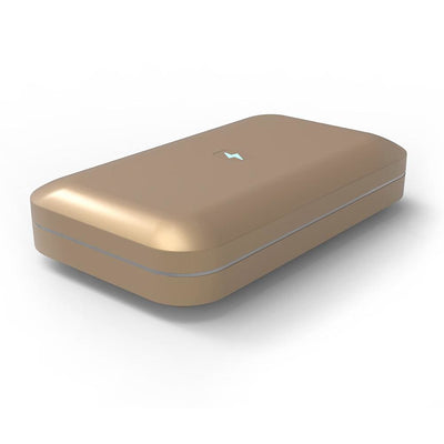 Phonesoap 3.0 - UV Light Sanitizer and Charger - Gold