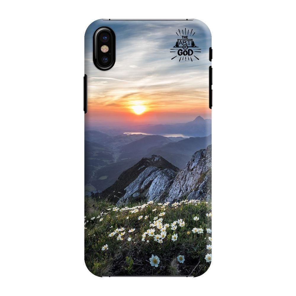 Picturesque Sunset Slim Case And Cover For iPhone X