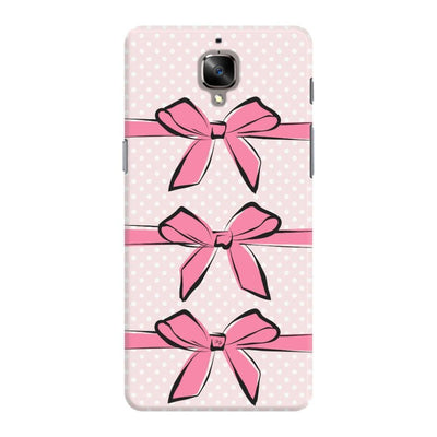 Pink Bows And Polka Dots Slim Case For Oneplus 3T