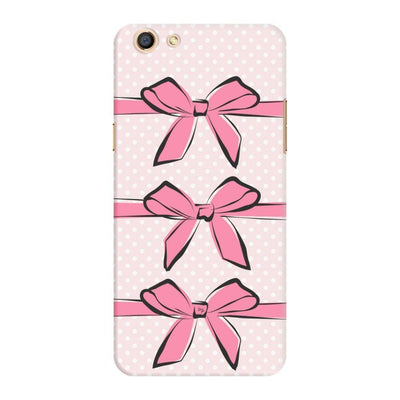 Pink Bows And Polka Dots Slim Case For Oppo F3