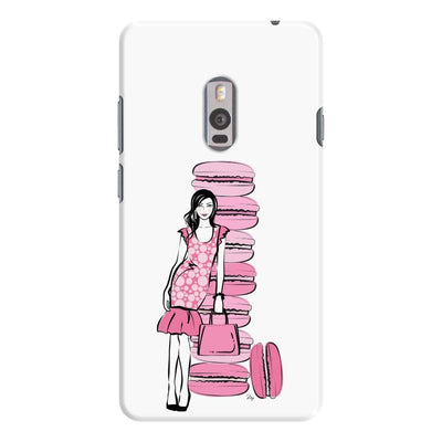Pink Macaroons Slim Case For Oneplus Two
