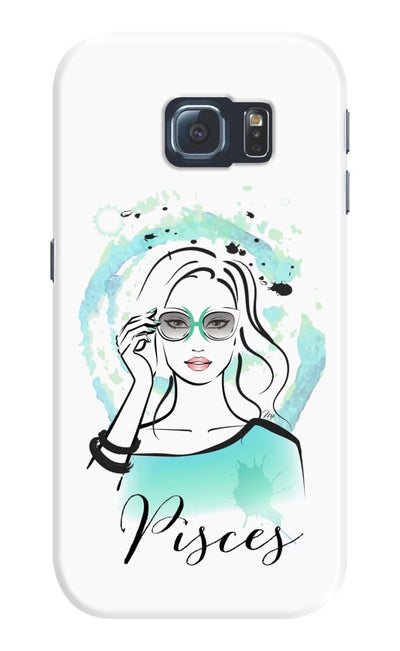 Pisces by Martina Pavlova Slim Case For Galaxy S6 Edge