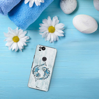 Pisces by Roly Orihuela Slim Case For Pixel 2