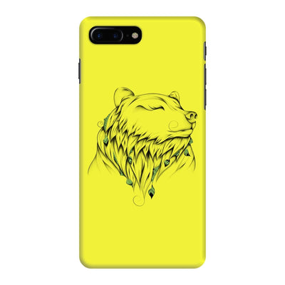 Poetic Bear Slim Case And Cover For Iphone 7 Plus - Neon Yellow