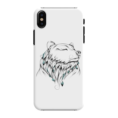 Poetic Bear Slim Case And Cover For Iphone Xs - White