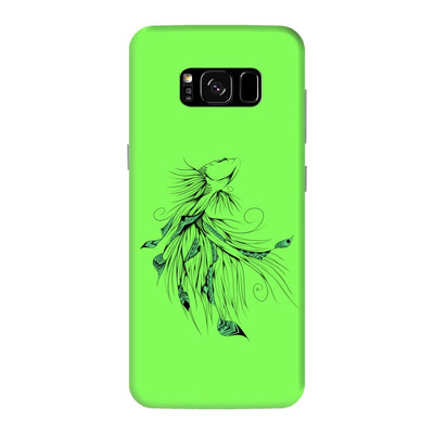 Poetic Betta Fish Slim Case And Cover For Galaxy S8 Plus - Neon Green