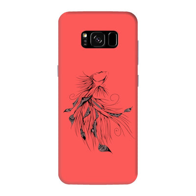 Poetic Betta Fish Slim Case And Cover For Galaxy S8 Plus - Neon Red