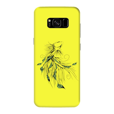 Poetic Betta Fish Slim Case And Cover For Galaxy S8 Plus - Neon Yellow