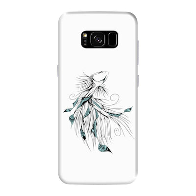 Poetic Betta Fish Slim Case And Cover For Galaxy S8 Plus - White