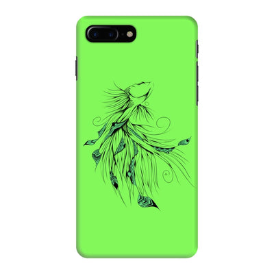 Poetic Betta Fish Slim Case And Cover For Iphone 7 Plus - Neon Green