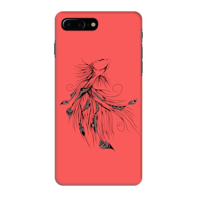 Poetic Betta Fish Slim Case And Cover For Iphone 7 Plus - Neon Red