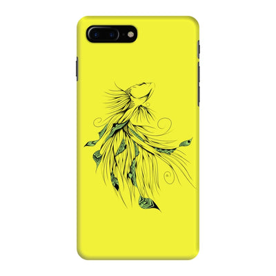 Poetic Betta Fish Slim Case And Cover For Iphone 7 Plus - Neon Yellow
