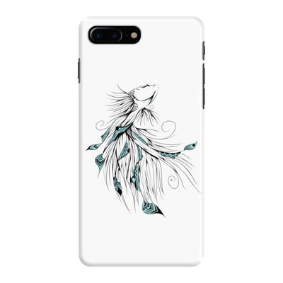 Poetic Betta Fish Slim Case And Cover For Iphone 7 Plus - White