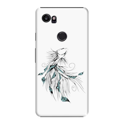 Poetic Betta Fish Slim Case And Cover For Pixel 2 Xl - White