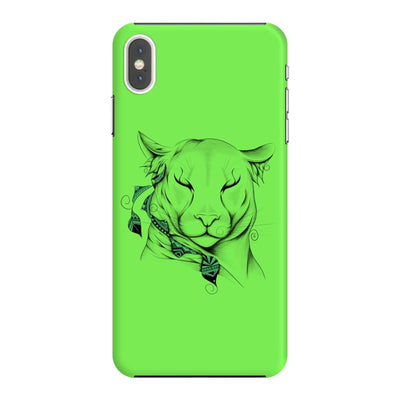Poetic Cougar Slim Case And Cover For Iphone Xs Max - Neon Green