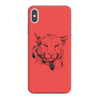 Poetic Cougar Slim Case And Cover For Iphone Xs Max - Neon Red