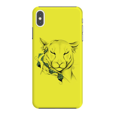 Poetic Cougar Slim Case And Cover For Iphone Xs Max - Neon Yellow