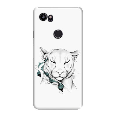 Poetic Cougar Slim Case And Cover For Pixel 2 Xl - White