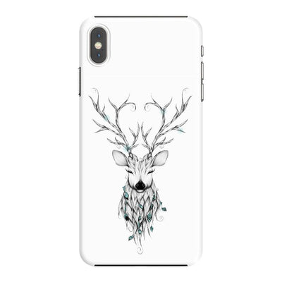 Poetic Deer Slim Case And Cover For Iphone Xs Max - White