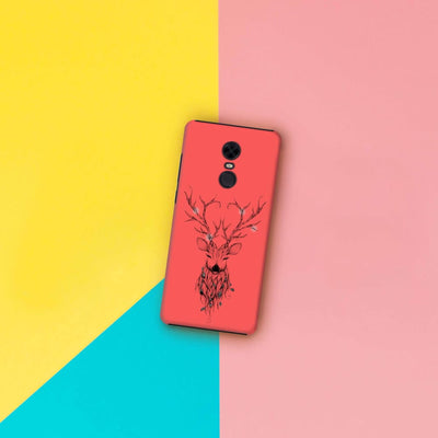 Poetic Deer Slim Case And Cover For Redmi Note 5