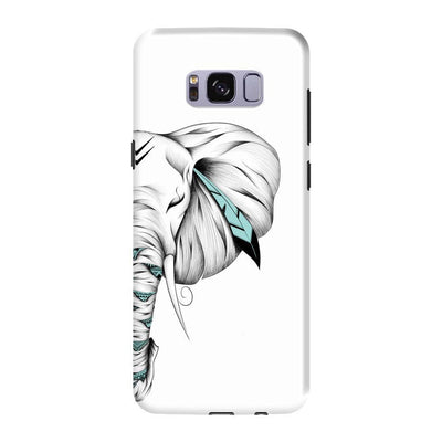 Poetic Elephant Slim Case And Cover For Galaxy S8 - White