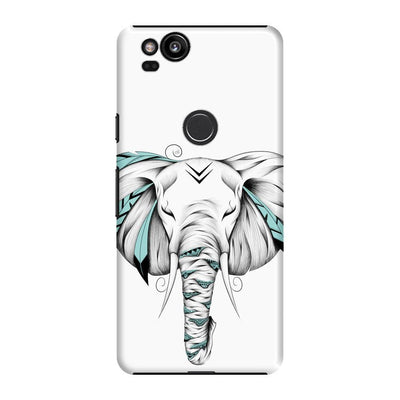 Poetic Elephant Slim Case And Cover For Pixel 2 - White