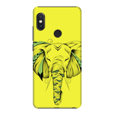 Poetic Elephant Slim Case And Cover For Redmi Note 5 Pro - Neon Yellow