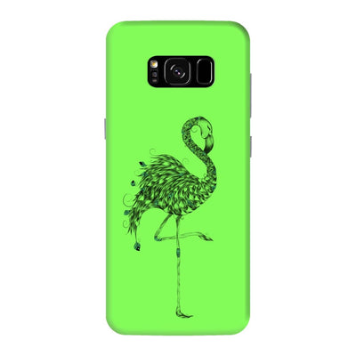 Poetic Flamingo Slim Case And Cover For Galaxy S8 Plus - Neon Green