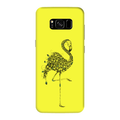 Poetic Flamingo Slim Case And Cover For Galaxy S8 Plus - Neon Yellow