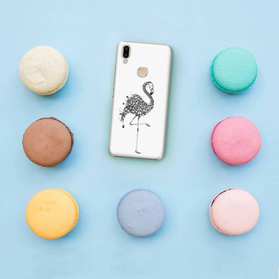 Poetic Flamingo Slim Case And Cover For Vivo V9