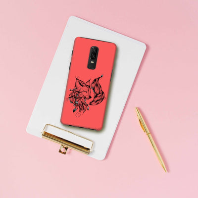 Poetic Fox Slim Case And Cover For Oneplus 6