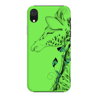 Poetic Giraffe Slim Case And Cover For Iphone Xr - Neon Green