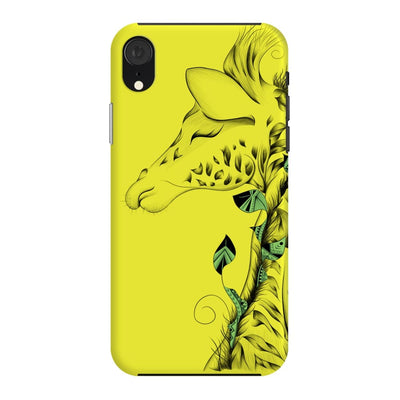 Poetic Giraffe Slim Case And Cover For Iphone Xr - Neon Yellow