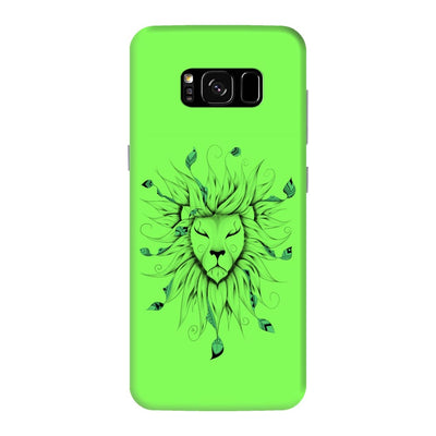 Poetic King Slim Case And Cover For Galaxy S8 Plus - Neon Green