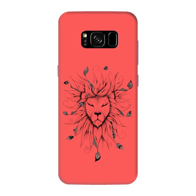 Poetic King Slim Case And Cover For Galaxy S8 Plus - Neon Red