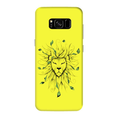 Poetic King Slim Case And Cover For Galaxy S8 Plus - Neon Yellow