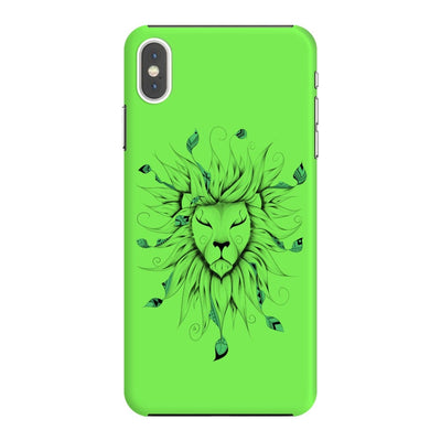 Poetic King Slim Case And Cover For Iphone Xs Max - Neon Green