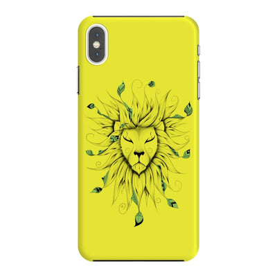 Poetic King Slim Case And Cover For Iphone Xs Max - Neon Yellow